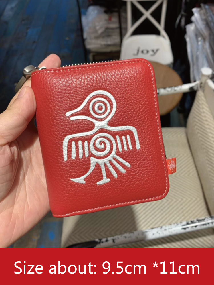 Image 5 - Orabird Genuine Leather Women Short Wallets Card Holder Cute  Purse Ladies Luxury Small Wallet for Cards Money Bag 2019Wallets   -