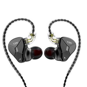 Image 2 - TRN BA5 5BA Driver Untis Metal In Ear Earphone IEM HIFI Monitor Running Sport  Headset Stage Resolution Detachable 2Pin V90/ZSX