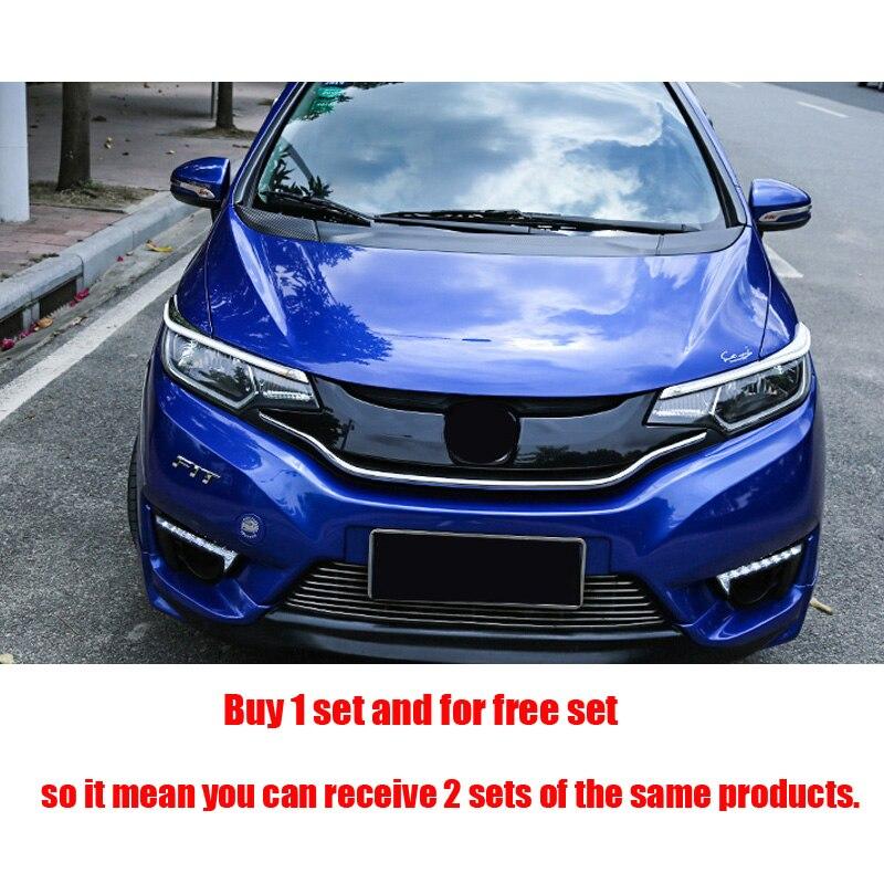 3pcs-set-Car-Styling-Carbon-fibre-front-Hood-machine-cover-sticker-For-Honda-Fit-Jazz-GK5