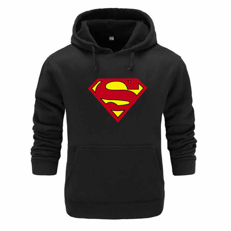 2020 Herbst Winter herren Hoodies Superman Superman Marvel Film Spiderman 3D Druck Avengers Hoodie Hoodies