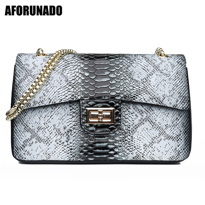 New Luxury Handbags Women Bag Designer Serpentine Chain Shoulder Bags Daily Shopping Messenger Crossbody Bags For Women 2019