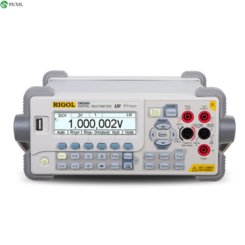 DM3068 6 1/2 Digits Multimeter Bench Top Digital Multimeter High Precision Desktop LCD Display Digital Multimeter 100-230V 30W