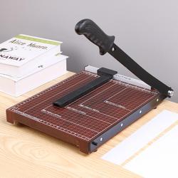 A4 papierowy nóż gilotynowy trymer Home Office szkoła papieru zdjęć narzędzia tnące profesjonalne cięcie maszyny|Maszyny matrycowe|   -