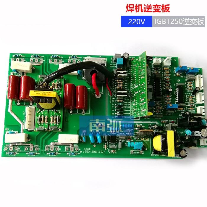 IGBT Inverter Board ZX7250I Upper Plate Single Phase 220V Welder Circuit Board IGBT Welding Machine Parts Double Voltage