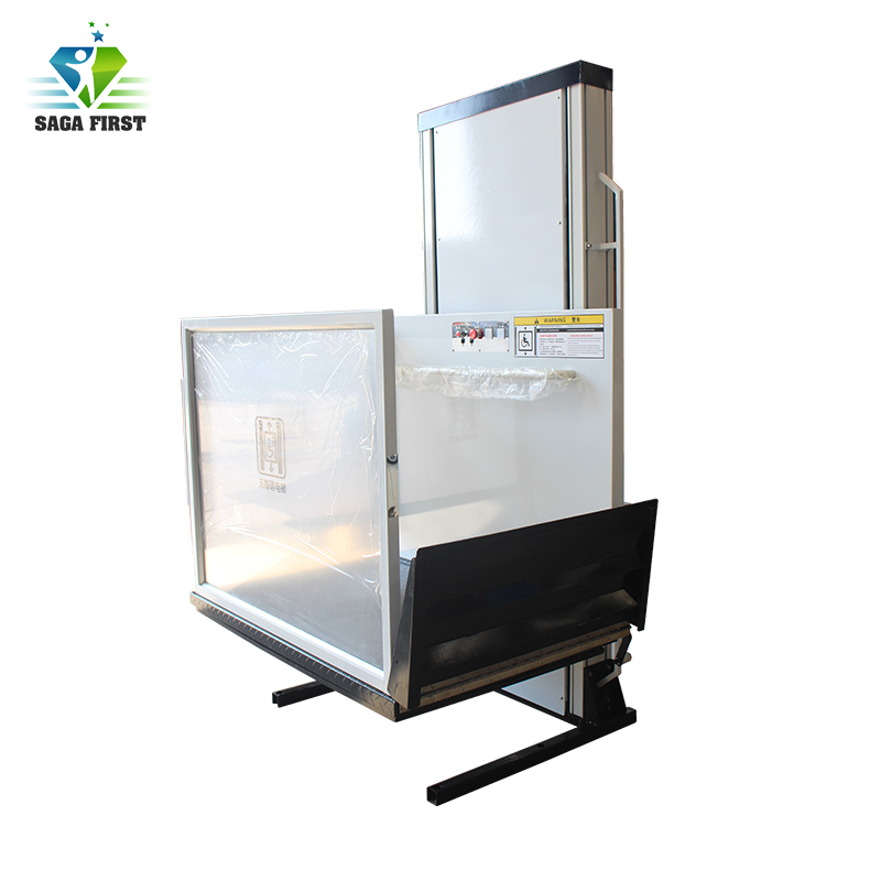 Cheap Price Outdoor Hydraulic Vertical Wheelchair Lift For Disabled People For Hot Sales