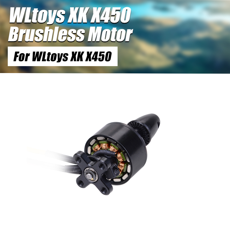 WLtoys XK X450 <font><b>Motor</b></font> RC Airplane Aircraft Fixed Wing 7.4V 2300KV <font><b>2000KV</b></font> CW CCW Turning Brushless <font><b>Motor</b></font> Accessories Spare Parts image