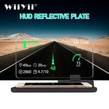 GEYIREN Universal H6 Auto HUD Head Up Display Projektor Überdrehzahl Warnung System Sicherheit Alarm Telefon Navigation Smartphone