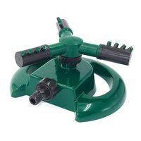Lawns Rotating Sprinkler Weighted Base Splitters Adjustable Green Sprayer Watering Irrigation System Patio and Garden|Garden Sprinklers| |  -