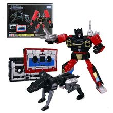Transformers Masterpiece Toys Takara Tomy Pvc-Figure-Model Rumble Mp15 Cassettes Gift