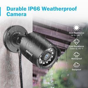Image 5 - ANNKE 1080P 4CH CCTV ev kamerası sistemi 5in1 1080N H.264 + DVR 2X 4X TVI akıllı IR Bullet hava güvenlik gözetim kiti