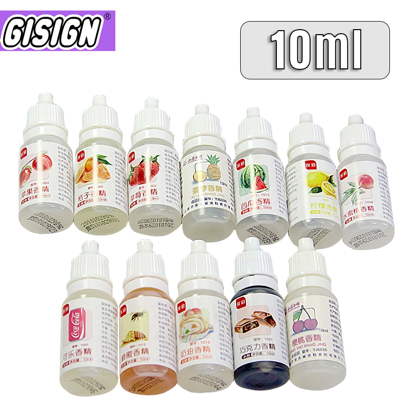10ml Additive Flavor For Slime Liquid Flavor Glue Slime Charms Fruit Aroma Polymer Clay Flavors Accessories Charms Toys Gift
