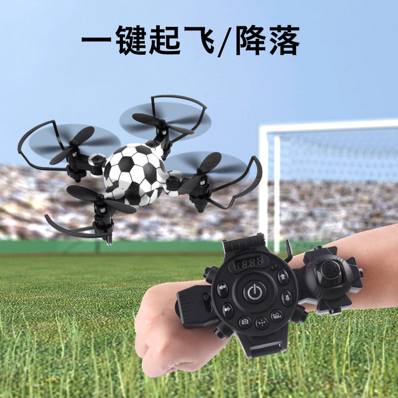 Quadcopter Mini Folding Watch Gesture Remote Control Manual Gravity Sensing Children Plane Toy Unmanned Aerial Vehicle