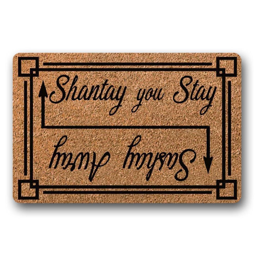 Sashay Away Shantay You Stay Rupaul S Drag Race Funny Door Mat Housewarming Gift Welcome Doormat 18x30 Inch Mat Aliexpress