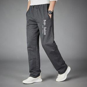 Esportes dos homens correndo calças de fitness gym training musculação sweatpants carta impresso calças jogging treino meninos roupas esportivas