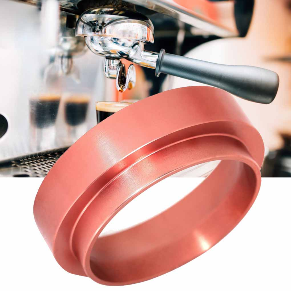 58mm Aluminum Dosing Ring For Brewing Bowl Espresso Coffee Powder Maker Barista Tool