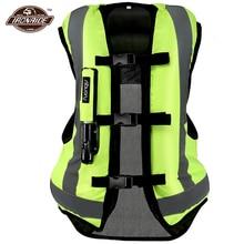 Hot Safty Leven Jas Motorjas Motorfiets Airbag Vest Moto Airbag Vest Motocross Racing Riding Airbag Ce Protector