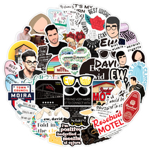 10/30/50pcs/pack Schitt's Creek Classic TV Show Stickers For Motorcycle Notebook Computer Car Children's Toys Decal Refrigerator