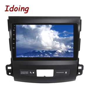 """Image 4 - Idoing 9""""4G+64G 2.5D IPS 8 Core Car auto Android Radio Multimedia Player For Mitsubishi Outlander 2006 2012 DSP GPS Navigation"""