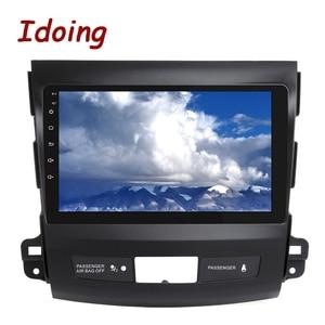 """Image 4 - Idoing 9 """"4G + 64G 2.5D IPS 8 rdzeń samochodowy auto Android Radio odtwarzacz multimedialny dla Mitsubishi Outlander 2006 2012 DSP nawigacja GPS"""