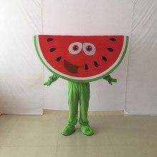Yetişkin meyve sebze karpuz maskot kostüm süslü elbise maskot kostüm cadılar bayramı noel