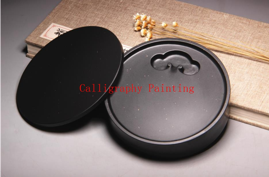 She Ink Stone With Cover Ru Yi Jin Xing Inkstone Inkslab Calligraphy Painting Tool