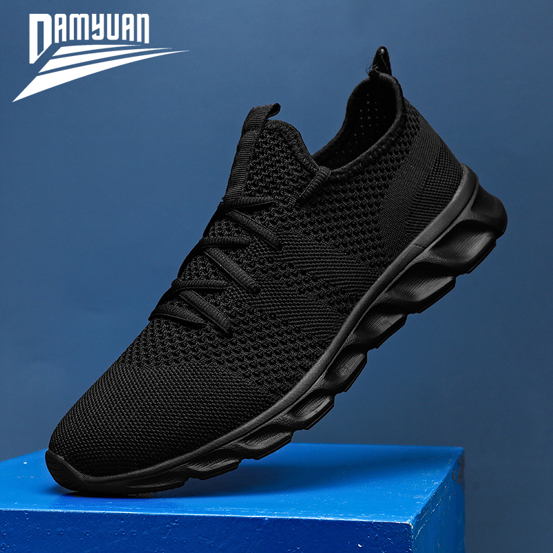 Casual Shoes Trainers Mesh-Sneakers Lightweight Damyuan Male Breathable Summer High-Quality