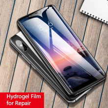 For Xiaomi Mi 9 Mi 8 SE Lite 6 Mix 3 Max 3 Soft Hydrogel Film 5D Full Screen Screen Protector For Redmi Note 7 6 K20 Pro Film wooden 3d building model toy gift wood puzzle hand work assemble game woodcraft construction shaolin temple kungfu monastery 1pc