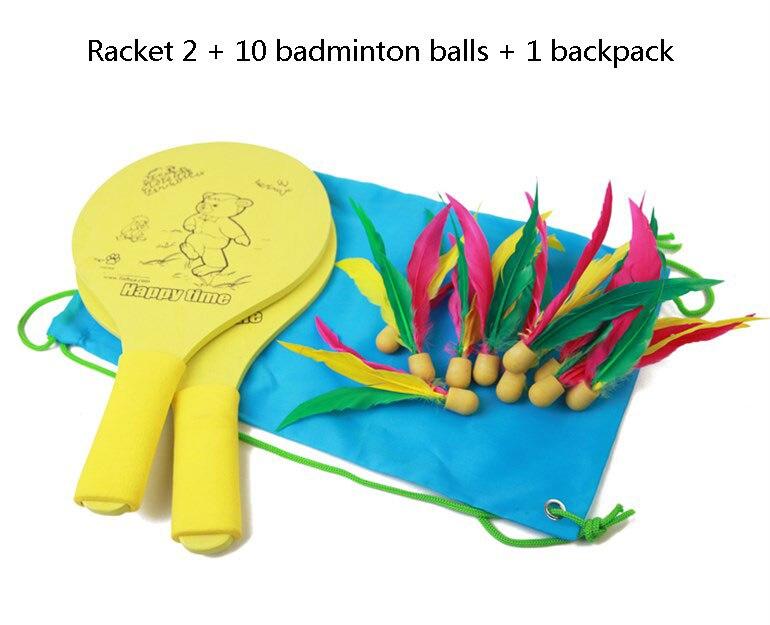 penas adulto crianças conjunto de críquete plate pena com 10 bolas