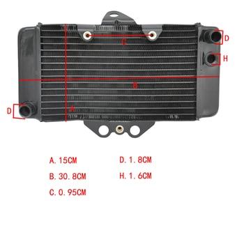 Motorcycle Aluminium Radiator Cooling Cooler  For Honda VTR250 1997-2007 97 98 99 00 01 02 03 04 05 06 07 VTR 250 97-07