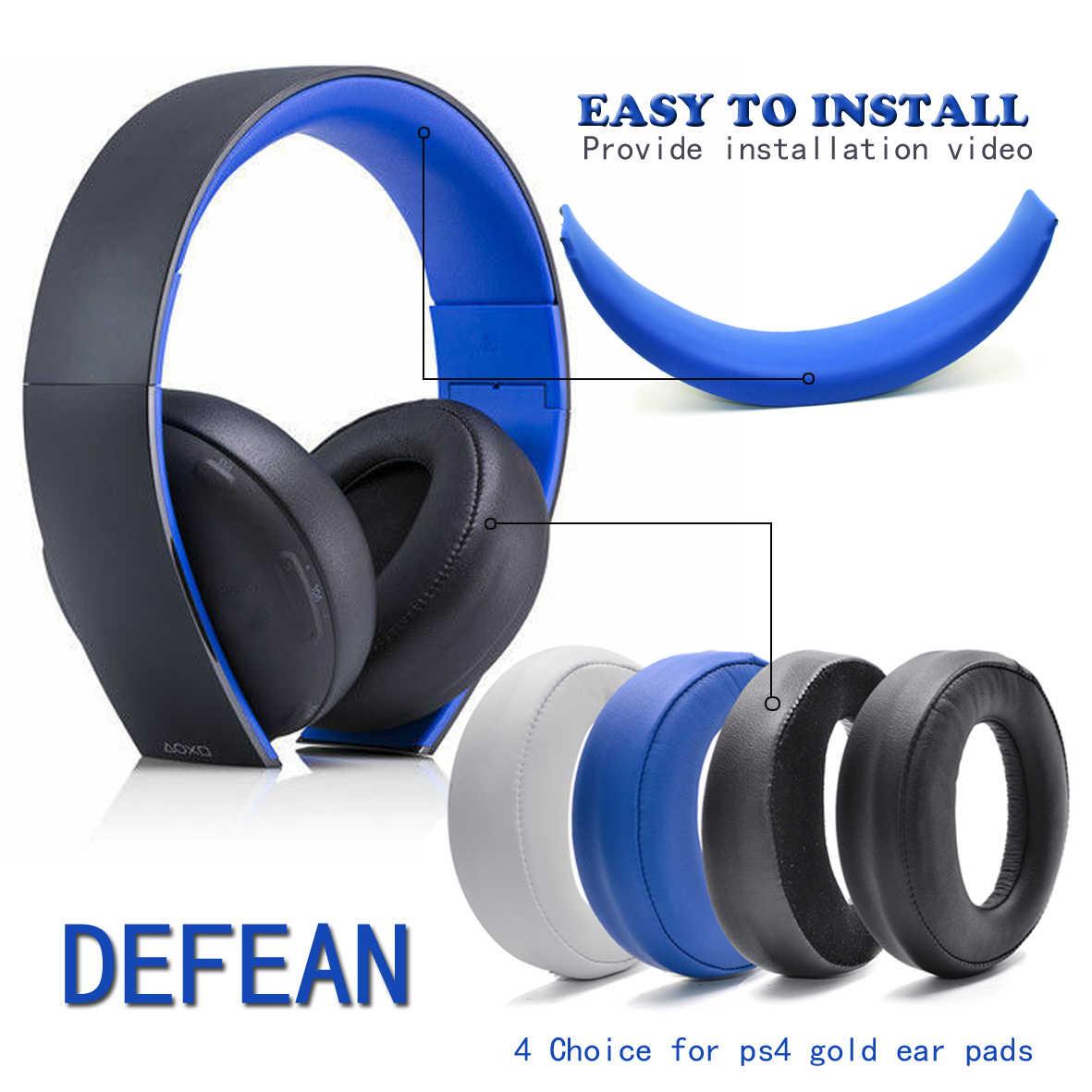 Bgworld Replacement Upgrade Headband Earpads For Sony Gold Wireless Headset Ps3 Ps4 7 1 Cechya 0083 Headphone Aliexpress