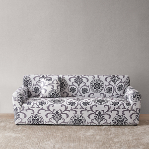 Image 3 - Floral Sofa Covers for Living Room Elastic funda sofa Sofa Slipcovers Sofa Towel Couch Cover fundas sofas con chaise longue 1PC