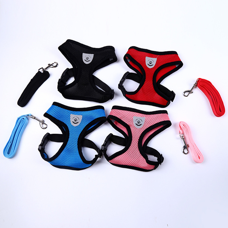 Hot Selling Pet Outdoor Sports Dog Hand Holding Rope Sandwich Chest And Back With Light Dog Chest And Back Traction Belt