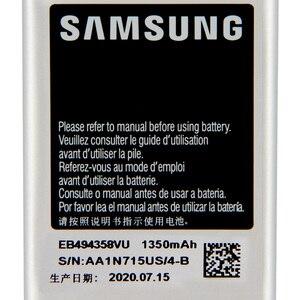 Image 5 - SAMSUNG EB494358VU Da Bateria Original Para Samsung Galaxy Ace S5830 S5660 S7250D S5670 i569 I579 GT S6102 S6818 GT S5839i 1350mAh