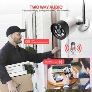 Image 3 - HD 1080P 5MP Wifi IP Kamera Outdoor Wireless Onvif Volle Farbe Nachtsicht CCTV Gewehrkugel Sicherheit Kamera TF Karte slot APP CamHi