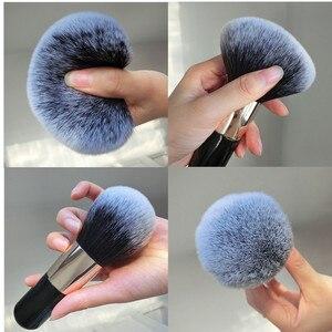 Image 5 - Büyük boy makyaj fırçalar krem vakıf pudra fırçası seti yumuşak yüz allık fırçası profesyonel büyük kozmetik makyaj araçları