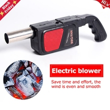 Bbq-Fan Grill-Accessories Cooking-Tool Electric Air-Blower Handheld Outdoor Camping Barbecue