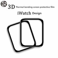 Apple Watch Film IWatch6 5 4 3 2 1 Watch Protective Film 3D Composite PMMA Tempered Full Coverage