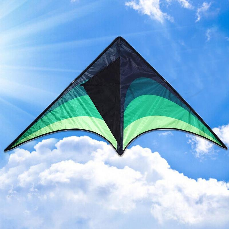 High Quality Large Delta Kites With Handle Line Outdoor Toys For Kids Kites Nylon Ripstop Albatross Outdoor Flying Kites