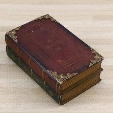 Boîte de protection d'angle de livre en métal, 24 pièces, couverture décorative de coin d'album Scrapbook (Bronze Antique)