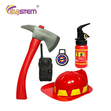 Little Fireman Costume Cosplay Pretend Play Games Toys Brave Sam Educational Toy Halloween Gift For Boys Occupations