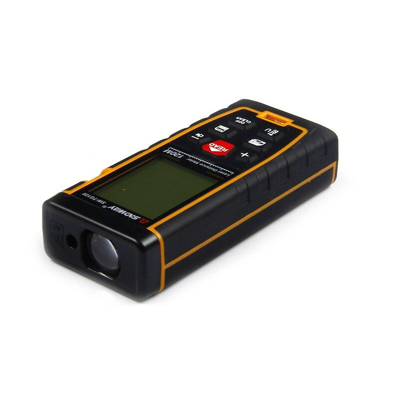 SNDWAY 2.0 calowy większy wyświetlacz LCD 120m dalmierz laserowy elektroniczny laserowy linijka dalmierz laserowy miarka dalmierz