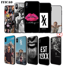 IYICAO Machine Gun Kelly MGK Soft Phone Case for iPhone 11 Pro XR X XS Max 6 6S 7 8 Plus 5 5S SE Silicone TPU