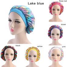 Hair Satin Bonnet For Shower Cap Silk Bonnet Bonnet Women waterproof cap Head Co