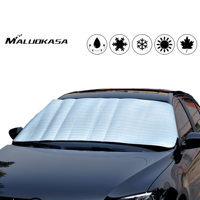 1PCS Car Windscreen Cover Anti Ice Snow Frost Heat Shield Dust Protection Sun Shade for Front Car Windshield Auto Accessories