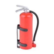 1/10 Scale Fire Extinguisher RC Rock Crawler Accessory for AMIYA CC01 RC4WD D90 D110 RC Truck Car Parts