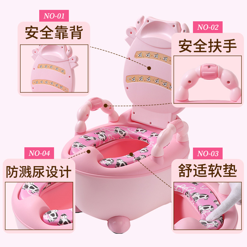Extra-large No. Children Potty Men And Women Baby Toilet Stool CHILDREN'S Sit Pedestal Pan Small Chamber Pot Toilet Seat Cushion