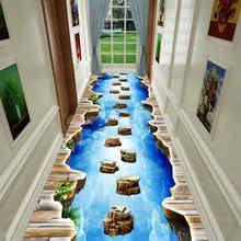 3D Fun Adventure Corridor Mat Bedroom Kitchen Rugs Kids Room Decorative Play Mat  Area Rug Pastoral Carpets for Living Room
