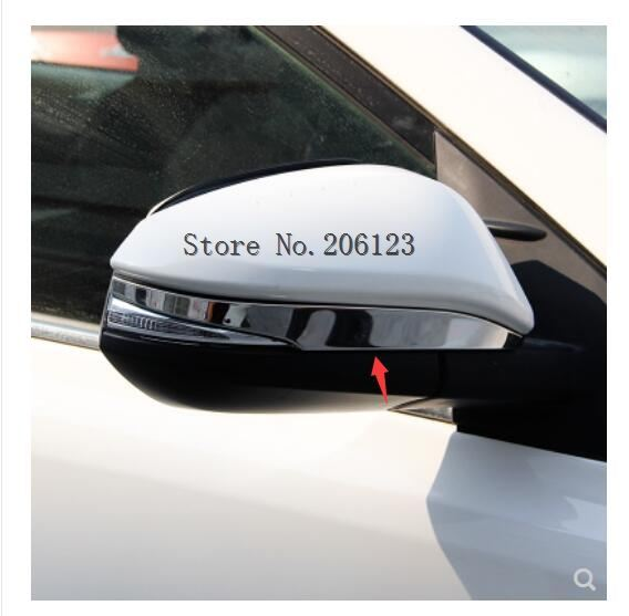 for <font><b>toyota</b></font> <font><b>rav4</b></font> rav 4 xa50 2014 2015 2016 2017 <font><b>2018</b></font> 2019 <font><b>accessories</b></font> plastic chrome rear side view rearview mirror trim cover image