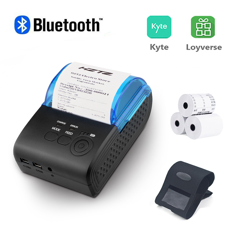 Portable Mini Bluetooth Printer Wireless Thermal Receipt Ticket Printer For Mobile Phone Window 58mm 2inch pos Machine|Printers|   - AliExpress