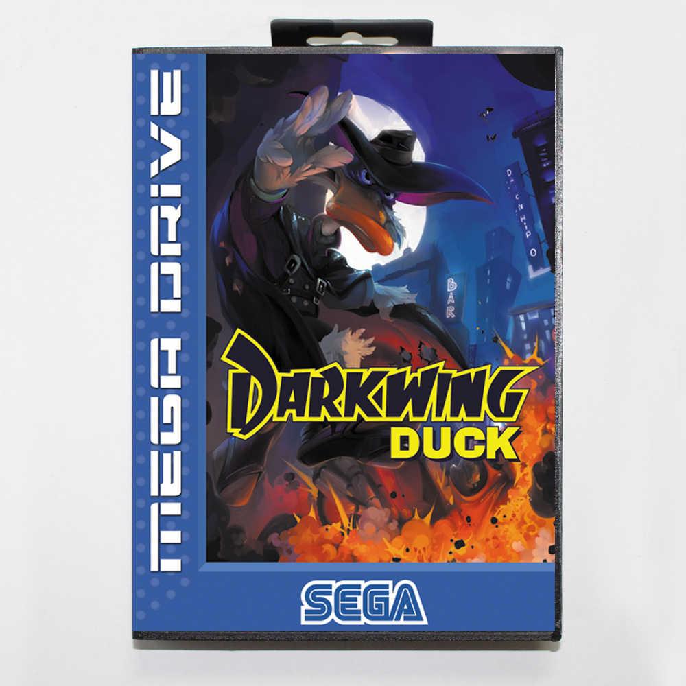 Darkwing Duck 16bit MD tarjeta de juego para Sega Mega Drive/Genesis con caja al por menor